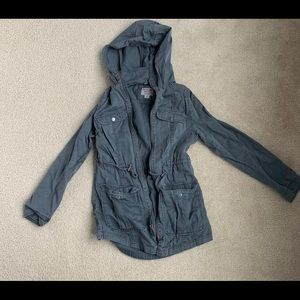 Target utility jacket in gray